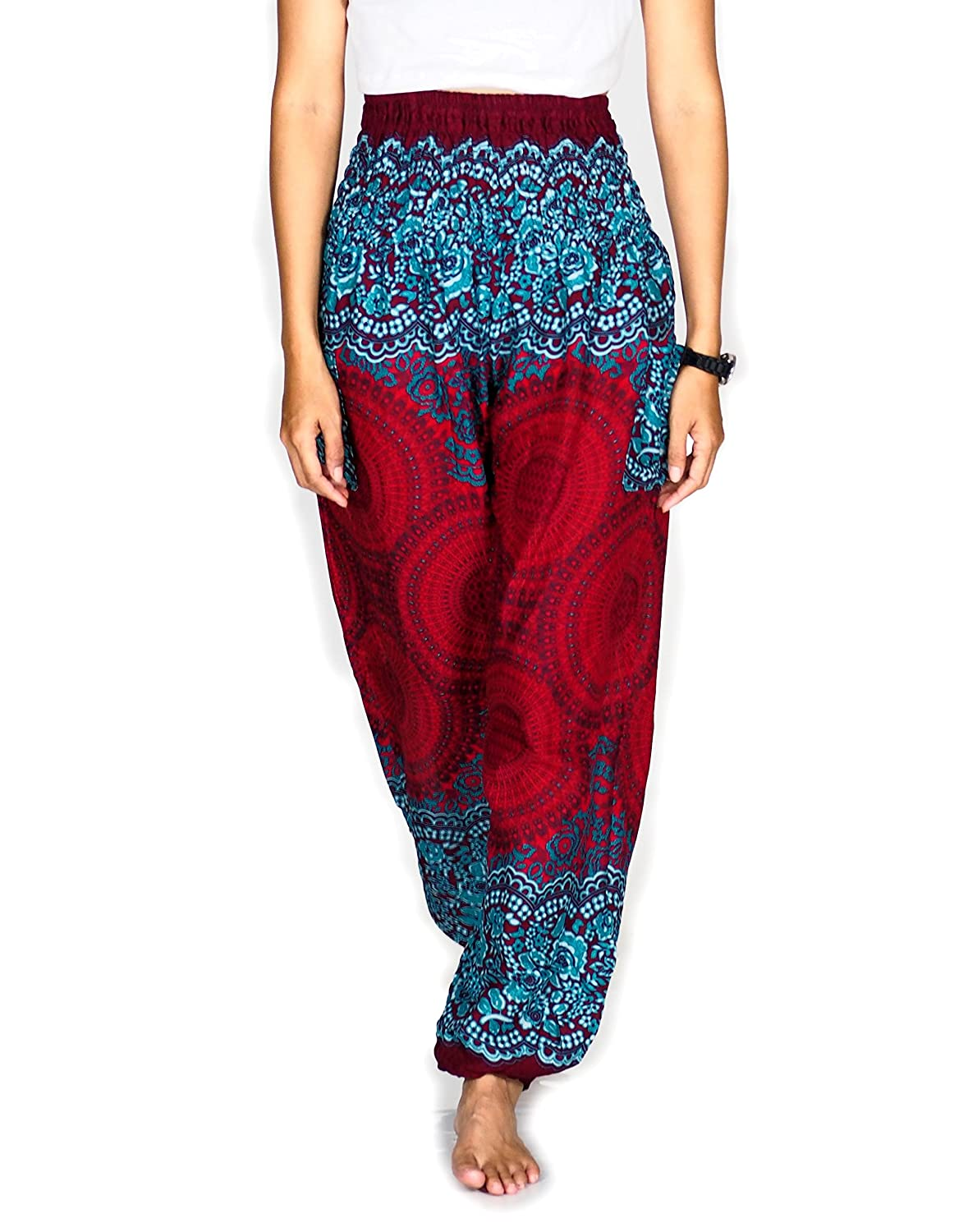 4219140a883 Top1  Boho Pants Harem Pants Yoga Trousers for Woman Bohemian Beach Pants