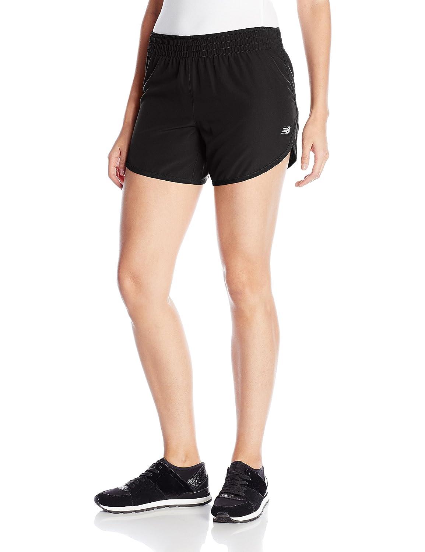 TALLA X-Small. Shorts de 5 pulgadas para mujeres, negro, X-Small