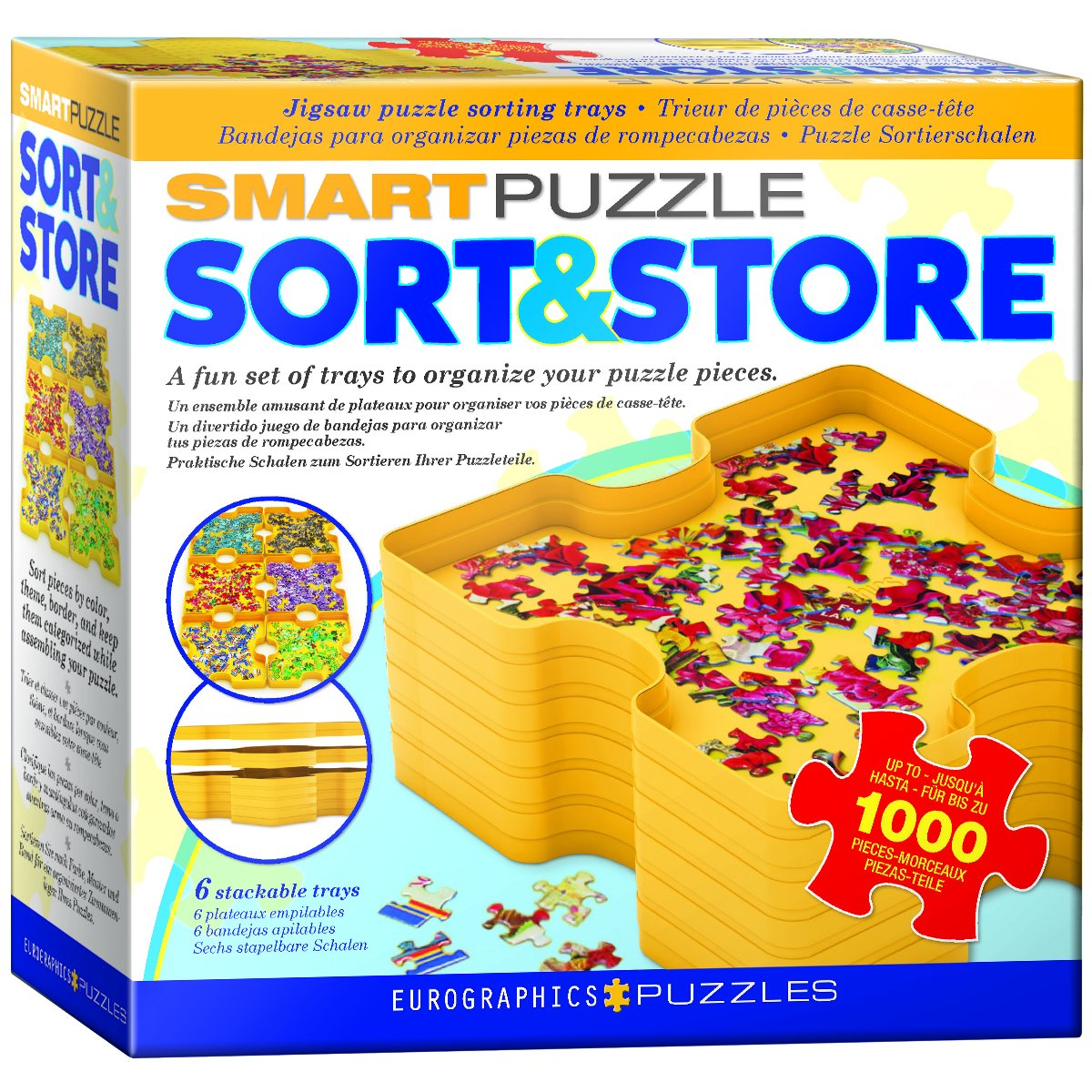 EuroGraphics Smart-Puzzle Sort & Store Jigsaw Accessory