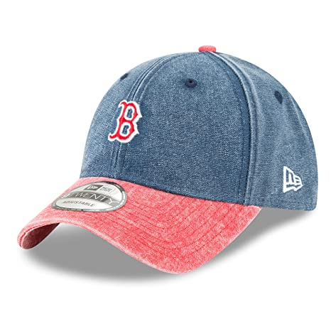 8dc631adee8d Image Unavailable. Image not available for. Color  Boston Red Sox New Era  9Twenty MLB  quot Rugged Canvas quot  Adjustable Hat