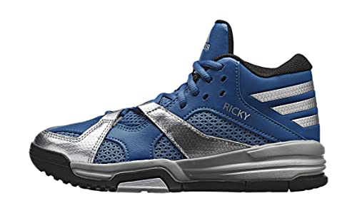 on sale 8566f 288cf adidas First Step K, Zapatillas de Deporte Exterior Unisex niños,  AzulPlata