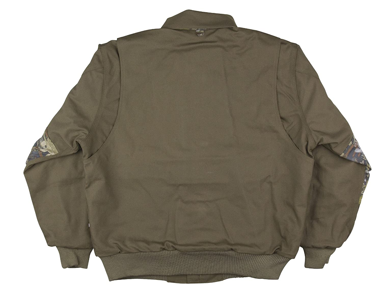 Oil and Gas Safety Supply Flame Resistant Insulated Camo Bomber Jacket