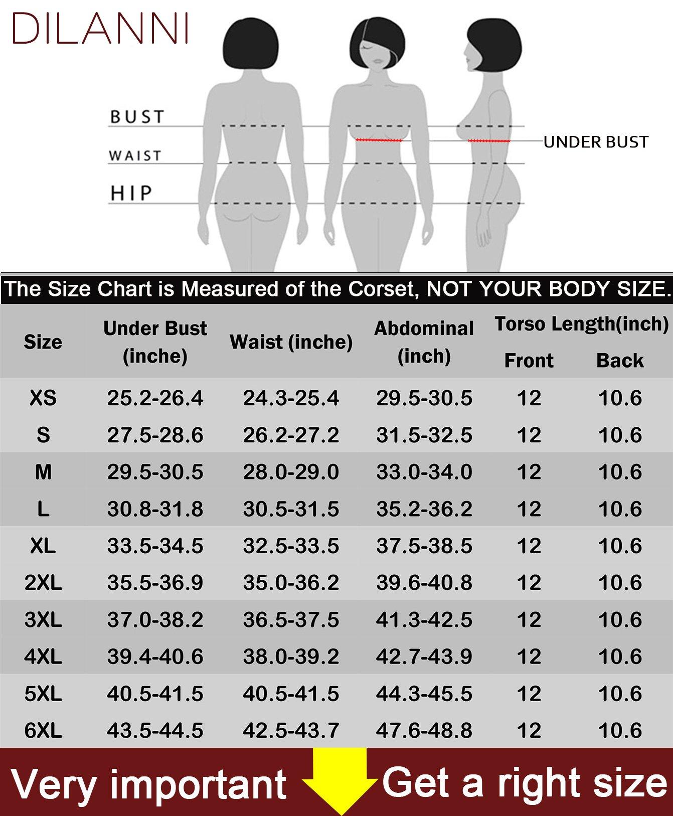 7584950f3 DILANNI Women s Underbust Latex Corset Body Girdle Waist Trainer Cincher  Shapewear Blue 2XL - LYSB01ELJFEM4-SPRTSEQIP   Waist Cinchers   Clothing