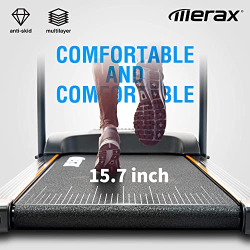 Merax Folding Electric Treadmill Motorized Running Machine Easy Assembly Electric Treadmill