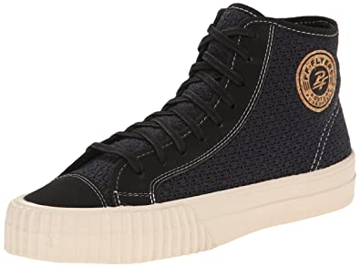 Image Unavailable. Image not available for. Color  PF Flyers Men s Center  High Woven Fashion Sneaker bf0819f2a