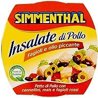 Simmenthal Gustose di Pollo, Fagioli e Olio Piccante - 160 gr