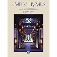 Simply Hymns: For Early Intermediate Piano book cover