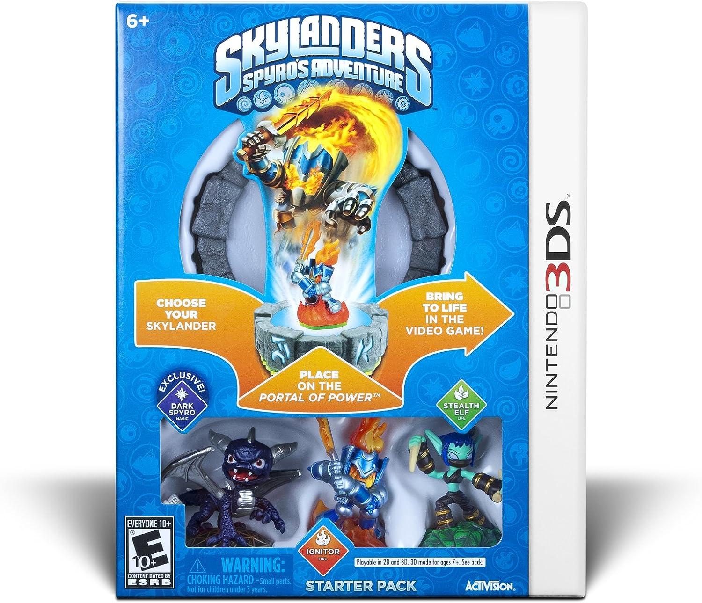 Uncategorized Skylander Games For Kids amazon com skylanders spyros adventure starter pack nintendo 3ds activision inc video games