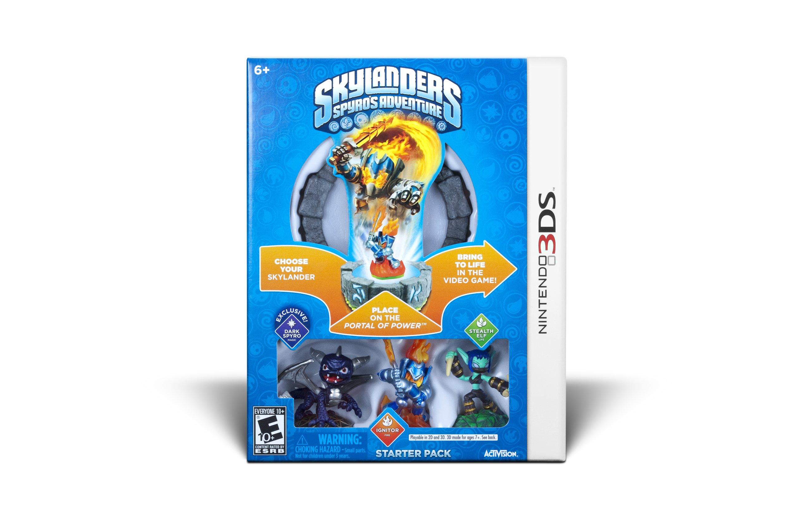 Skylanders Spyro's Adventure Starter Pack - Nintendo 3DS