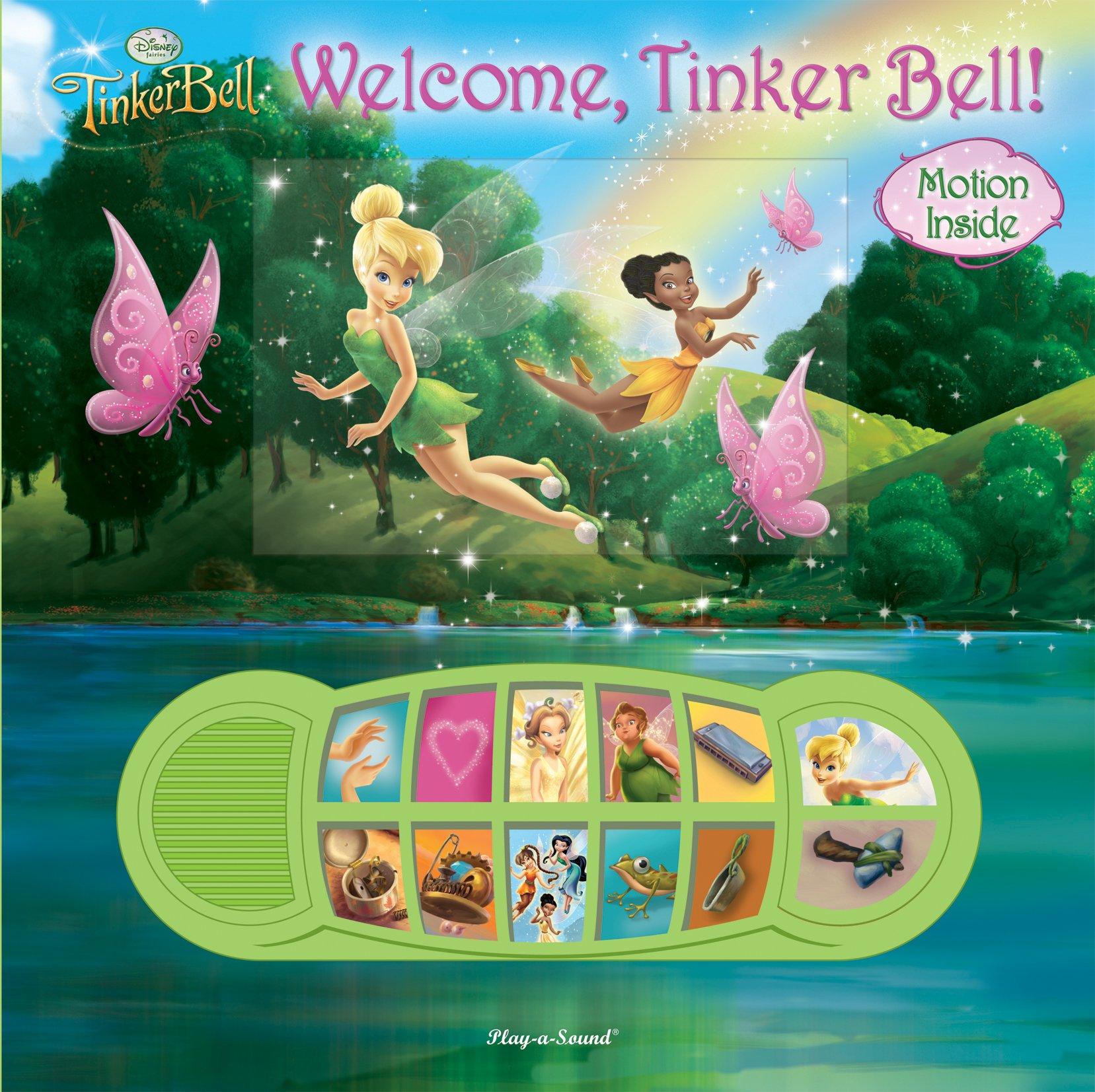 Disney Fairies: Welcome Tinker Bell! (Lenticular Sound Book) ebook