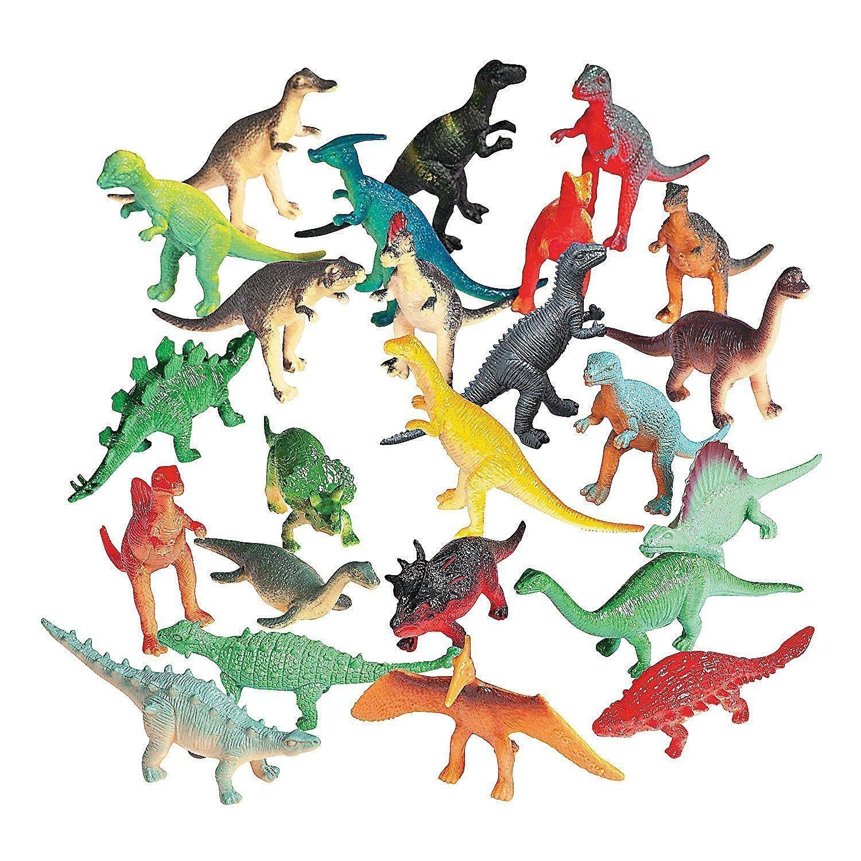 Fun Express Vinyl Mini Dinosaurs - 72 Count 39/1086