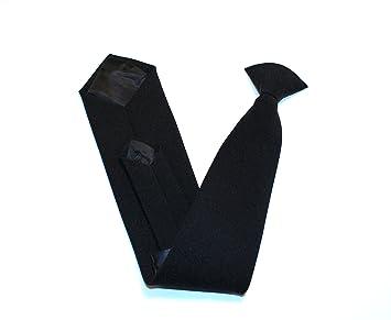 Corbata de Clip, Color Negro: Amazon.es: Deportes y aire libre