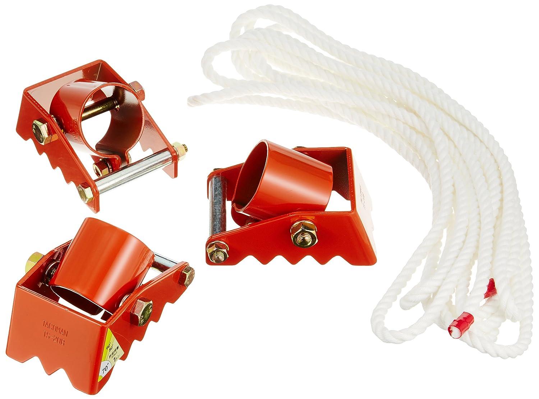 タコマン 三脚ベース ロープ付 使用荷重1.0t 単管パイプの脚部用補助具