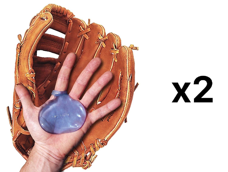 Unique Baseball Softball Pro Shock Sting Absorbing Palm Gel Cushion Pad 2-Pack
