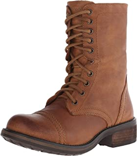 0120c35bbc2 Amazon.com | Steve Madden Women's Troopa Combat Boot | Mid-Calf