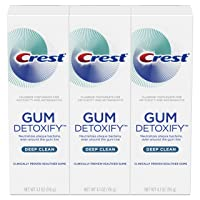Deals on 3-Pack Crest Gum Detoxify Deep Clean Toothpaste 4.1 oz