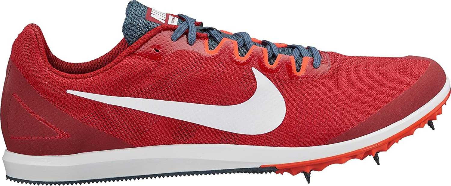 58d63701fced8 Amazon.com  Nike Men s Zoom Rival D 10 Track and Field Shoes(Red White