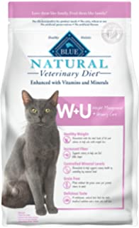 Blue Buffalo Natural Veterinary Diet Weight Management + Urinary Care for Cats 6.5Lbs