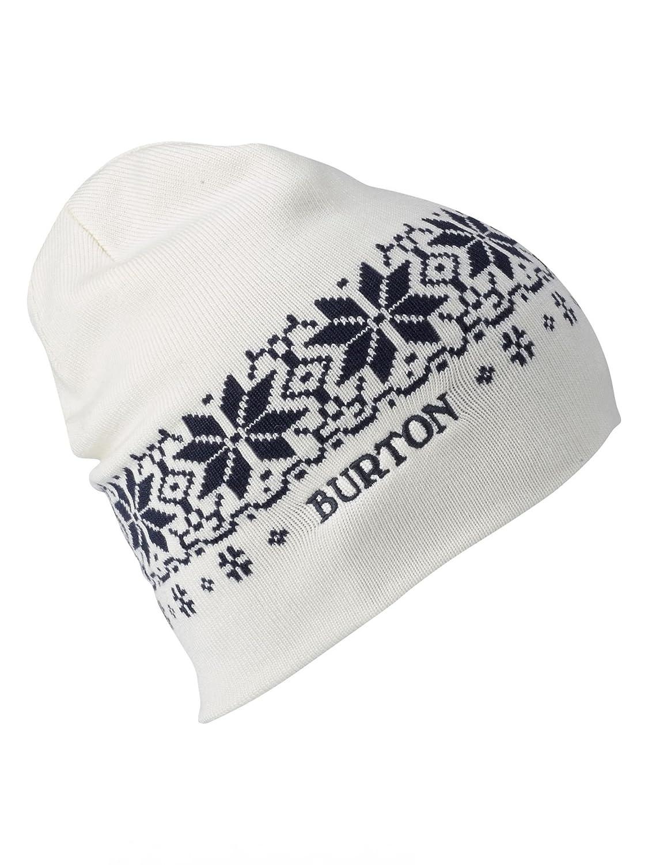Mood Indigo//Stout White Burton Womens Belle Beanie One-Size