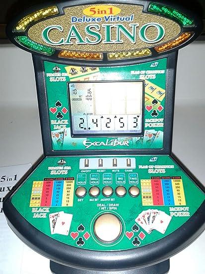 #G14E6GE4R-GE 4-TEW6W289337 Mega Screen 7 In 1 Poker New Large Screen Hand Held Video Electronic Game Fun