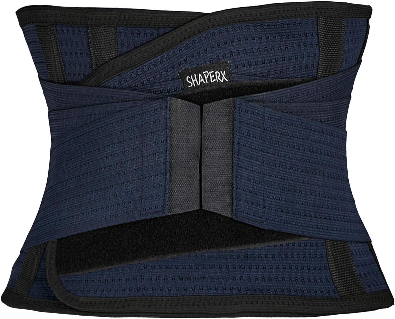 Womens Waist Trainer Trimmer Sweat Sport Belt Slimming Body Waist Shaper S-XXXL
