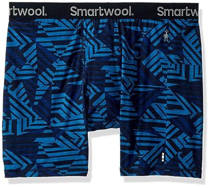 Smartwool Merino 150 Pattern Boxer Brief Men Bright Cobalt 2019 Unterwäsche blau Camping & Outdoor