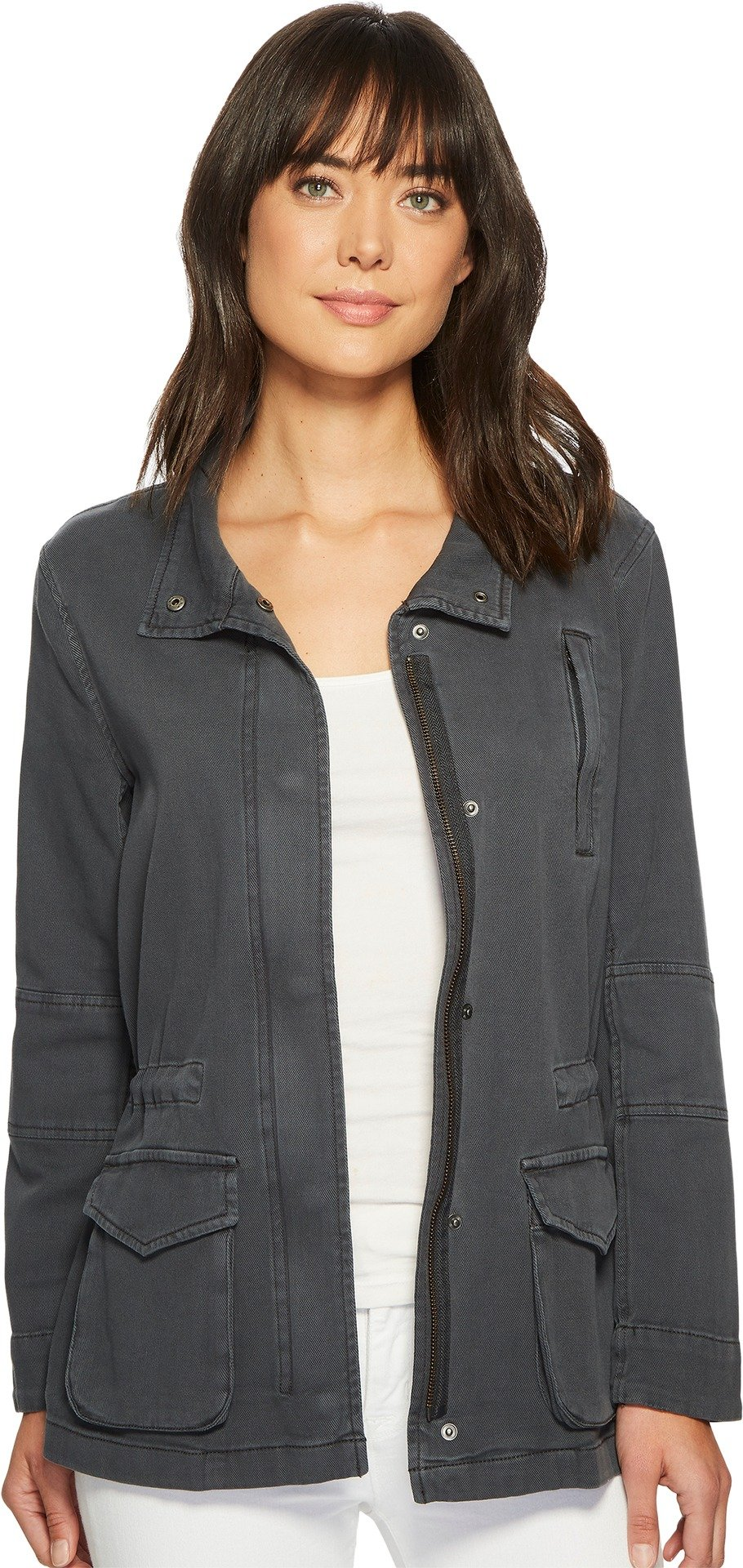 NIC+ZOE Women's Modern Utility Jacket Ink Medium