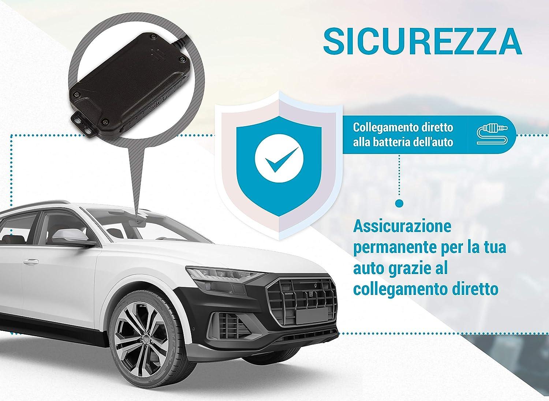 miniatura 4 - Salind GPS 01- Localizzatore GPS per auto, moto e veicoli con scheda SIM, app