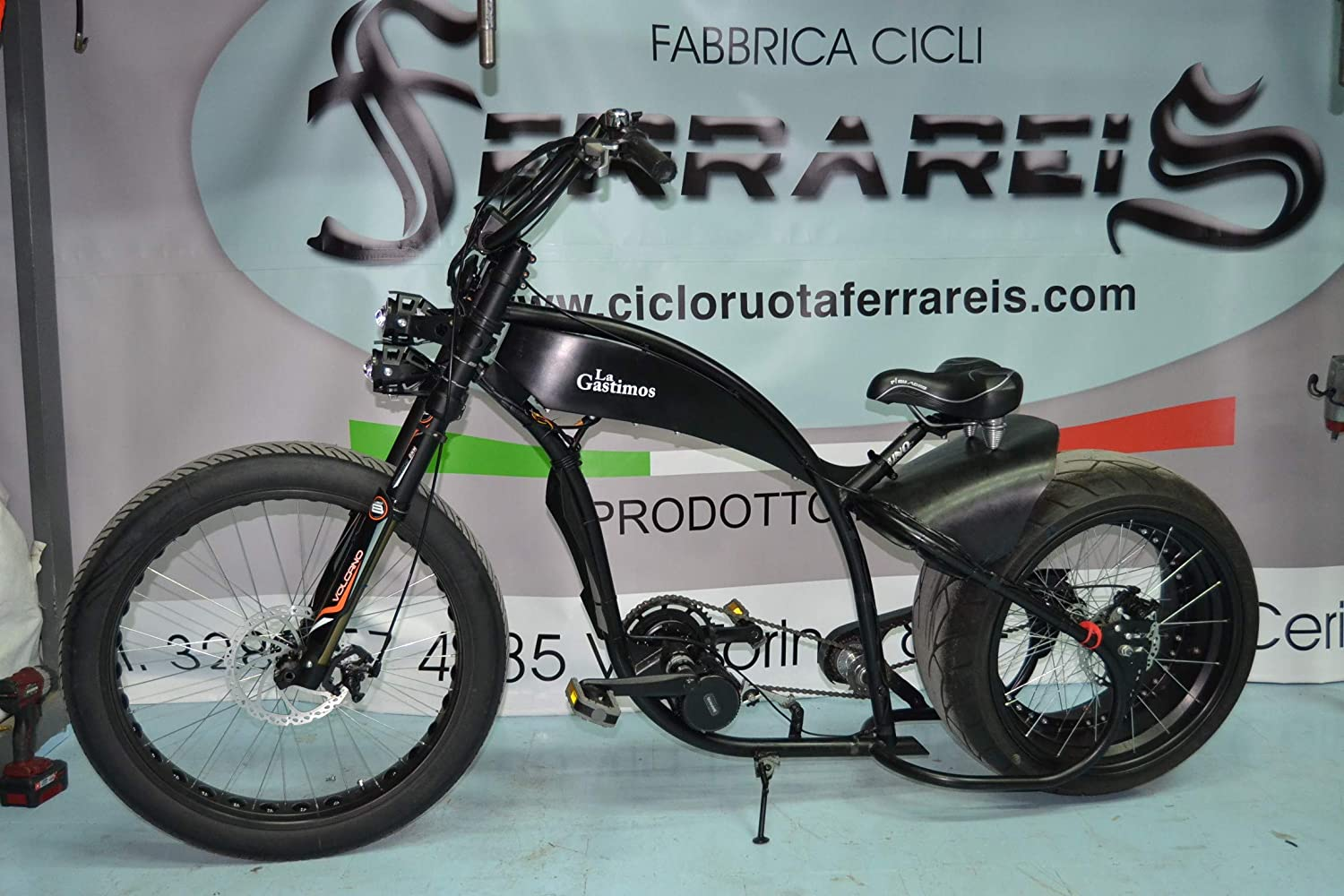 Fat Bike Bicicleta Harley Davidson réplica Chopper Cruiser ...
