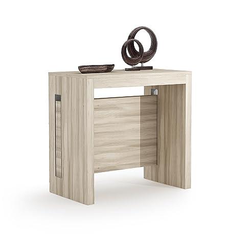 Esstisch ausziehbar grau  Modernes 4 in 1 ausziehbar Esstisch 100% Made in Italy ...