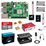 LABISTS Raspberry Pi 4 Complete Kit with Pi 4 Model B 8GB RAM Board, 128GB Micro SD Card, 5V 3A Power Supply, Cooling…