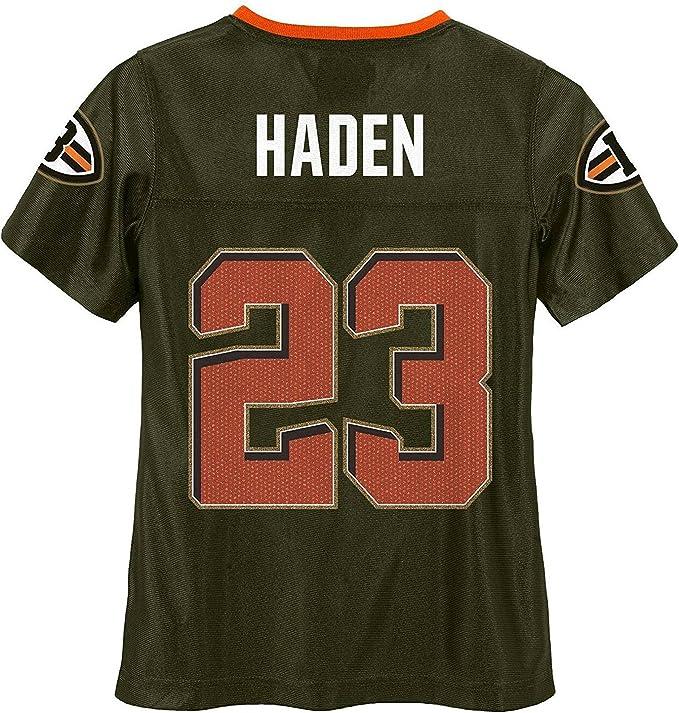 Amazon.com: Joe Haden Cleveland Browns #23 Brown Girls Youth ...