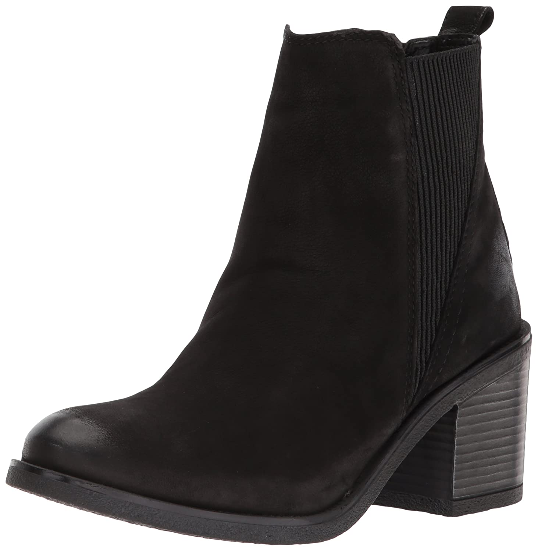 ALDO Women's Cilalla Ankle Boot B0743S9ZNT 8 B(M) US|Black Nubuck