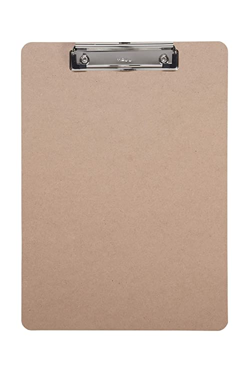A4 Clipboard Wooden Amazoncouk Office Products