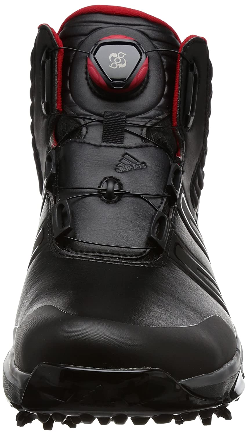 purchase cheap baf59 b2bb0 Amazon.com: adidas 2017 Mens Climaproof Boa Wide Waterproof Golf Shoes  Winter Boots Black/Black 10 UK: Sports & Outdoors