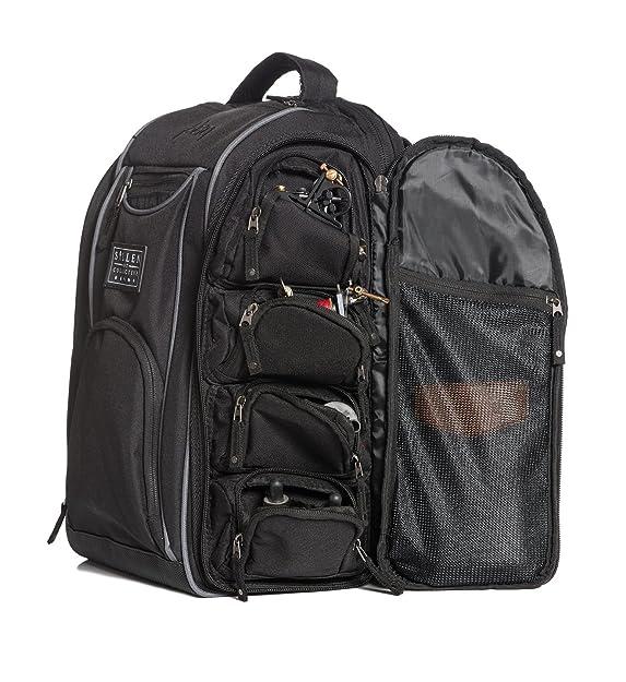 212e9db9526d Sullen Art Co. Blaq Paq Drone - Tattoo Travel Backpack Black