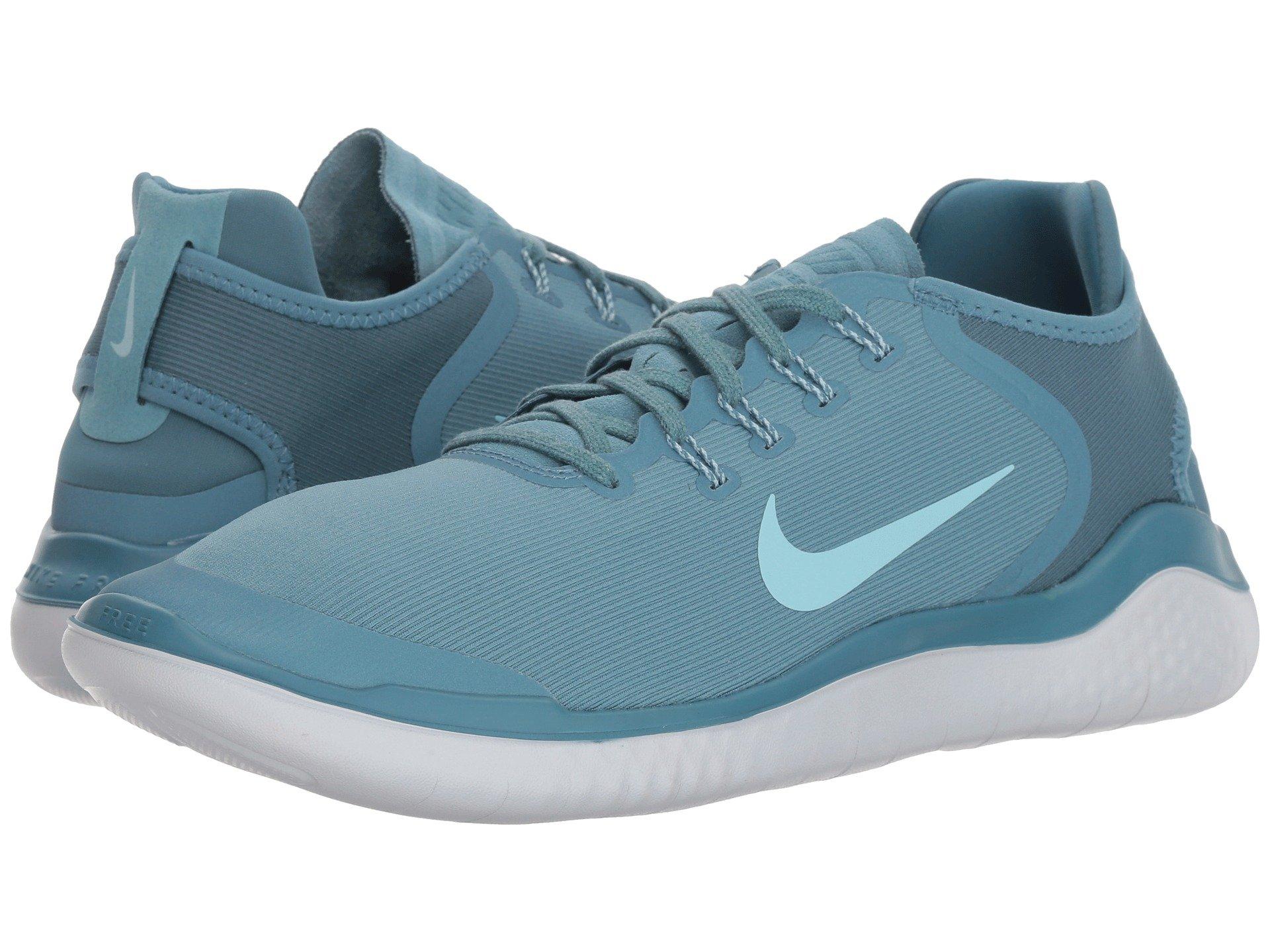 Nike Free RN 2018 Sun Running Shoe (8 D(M) US, Noise Aqua/Pure Platinum) by Nike (Image #7)