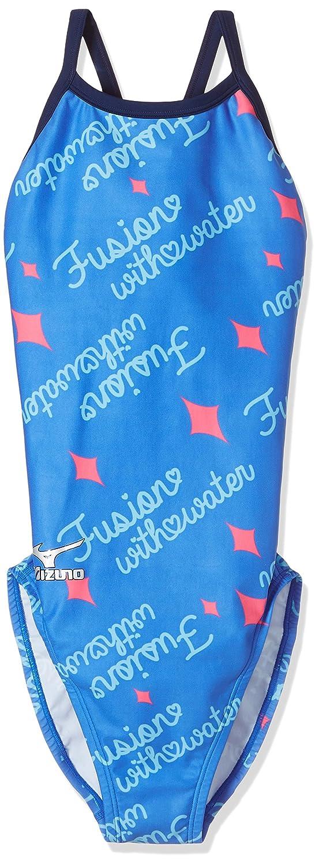 MIZUNO(ミズノ) 競泳水着 レディース エクサースーツ ミディアムカット ワンピース N2MA7771 B071Z9FCSY Medium|27:ブルー 27:ブルー Medium
