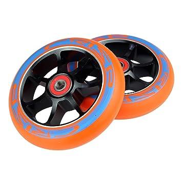 Crisp 5 - Ruedas para Patinete de 110 mm con rodamientos: Amazon.es: Deportes y aire libre