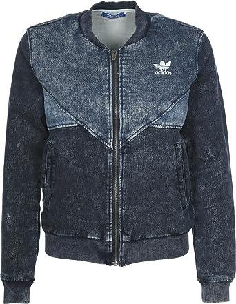 11ad56261 adidas Originals Women s Colorado Denim Jacket - 14 - Denim  Amazon ...