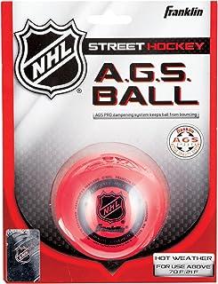 Franklin 12219 Balle de streethockey AGS Très haute densité Rouge