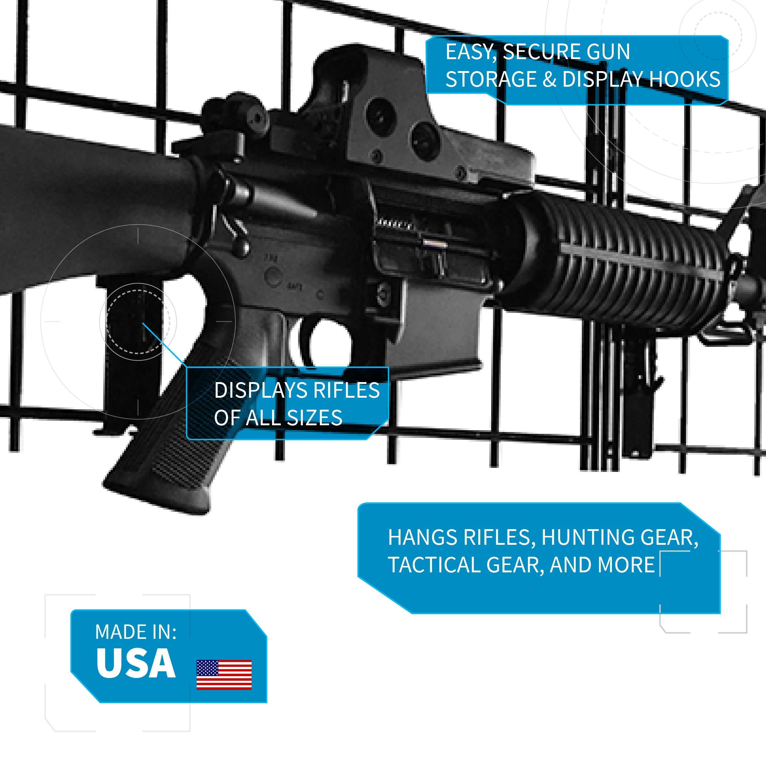 Gun Storage Solutions Grid Wall Gun Cradle (10 Pack) by Gun Storage Solutions