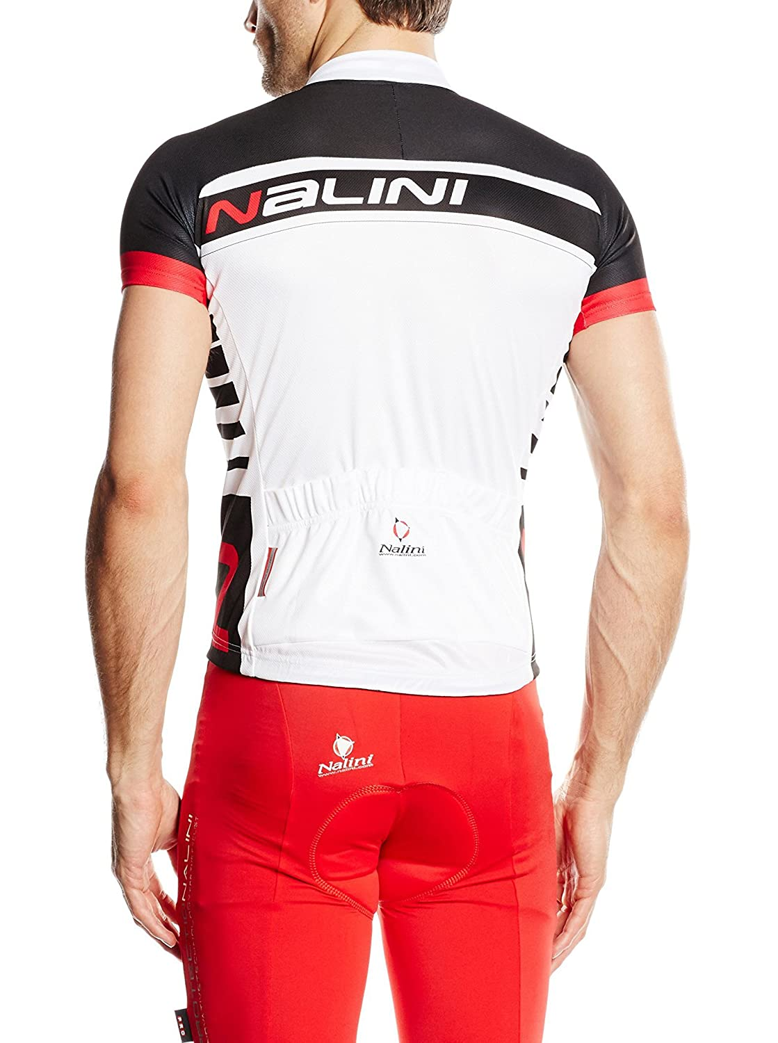 Nalini TESCIO Shirt RED S Black White  Amazon.co.uk  Clothing 31293f25b
