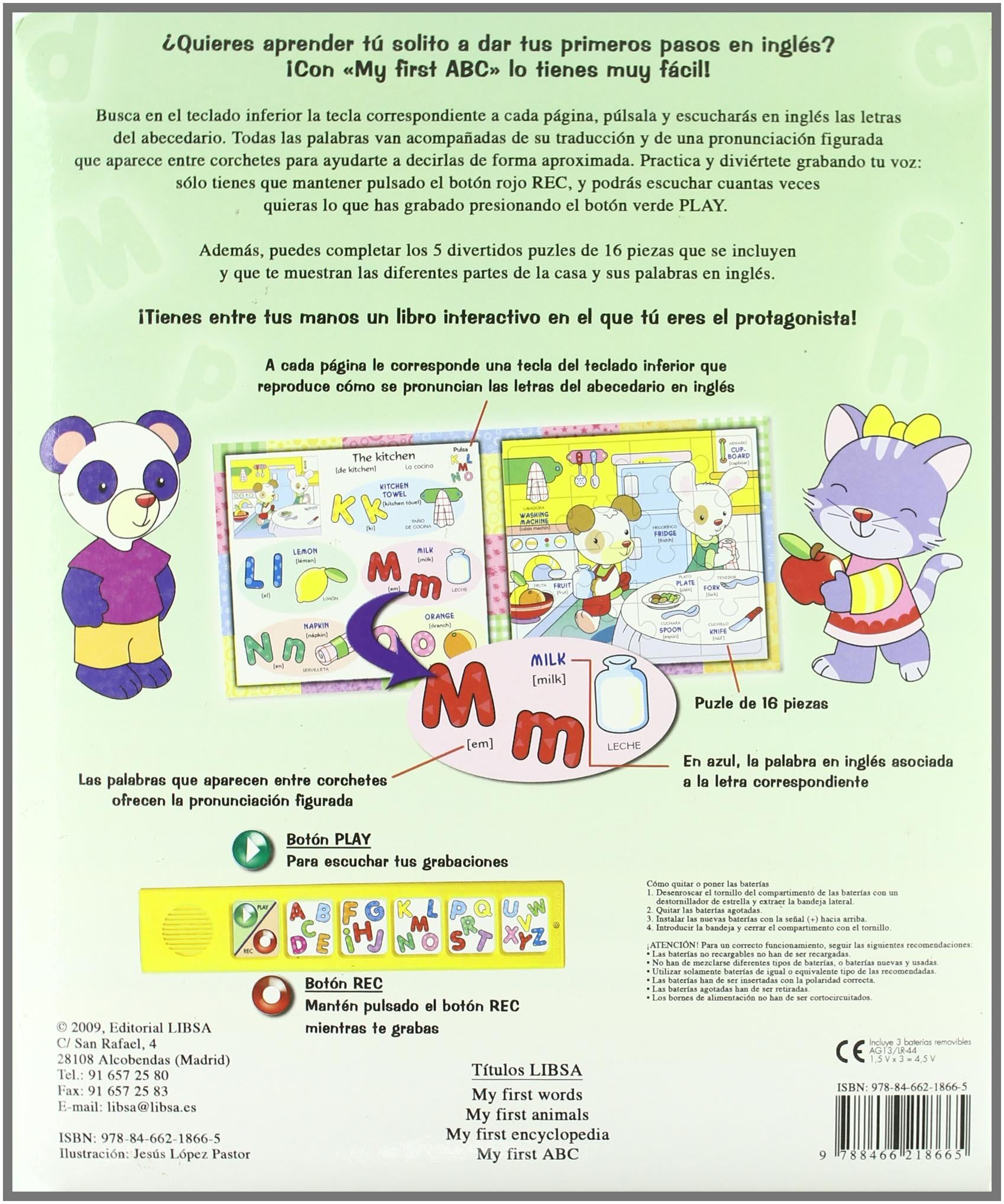 My First ABC (Mi Primer Libro De Ingles/ My First English Book ...