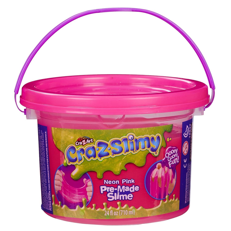 Cra Z Slimy Neon Pink Slimy Goop Large 24 oz tub