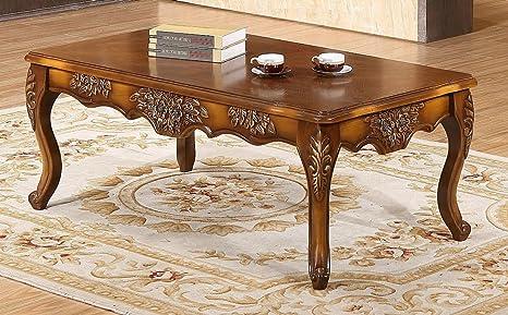 Amazon.com: Meridian Muebles Sevilla rectángulo mesa de ...