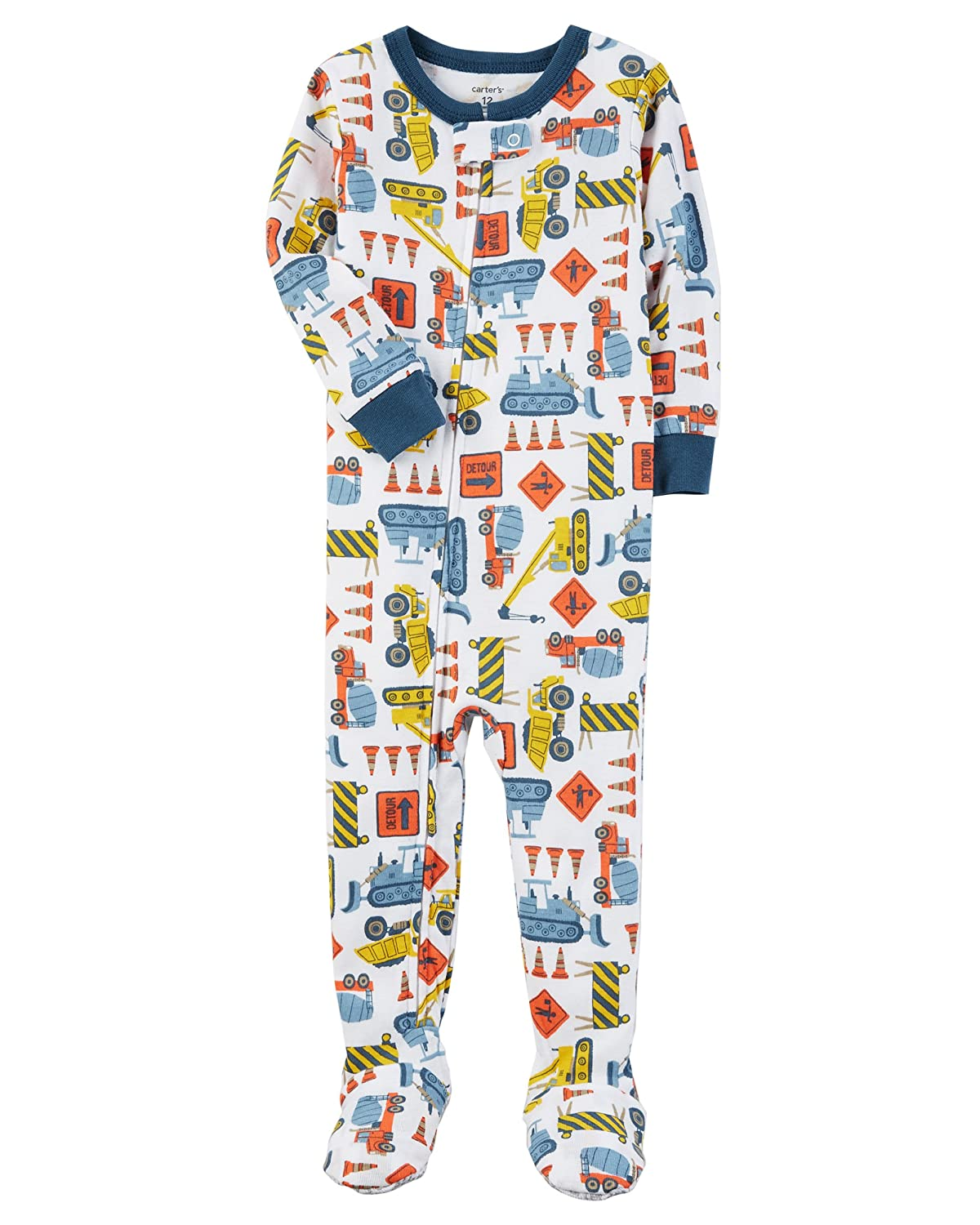 Carter's Baby Boys' 12M-24M One Piece Police Officer Cotton Pajamas