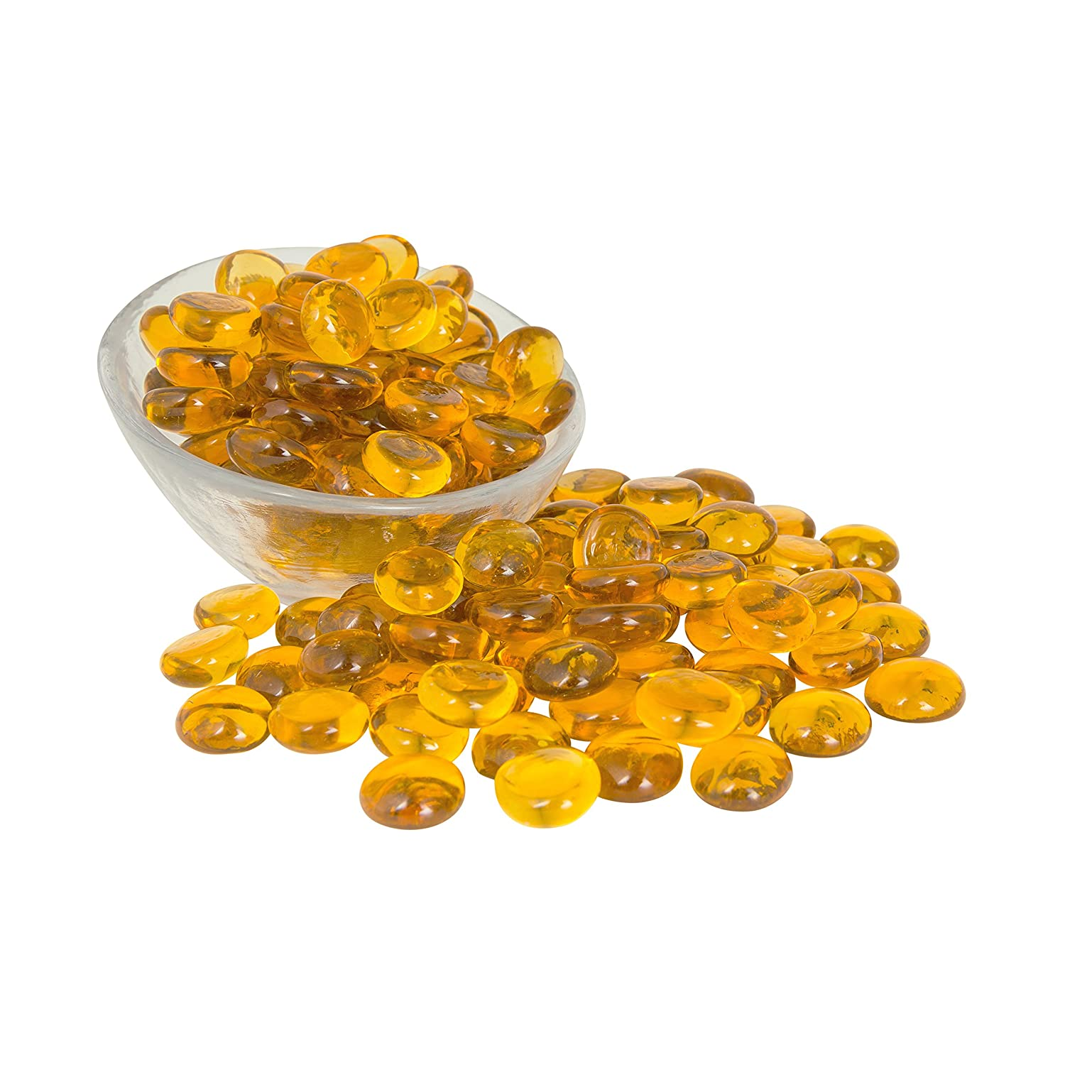 Yellow Glass Beads