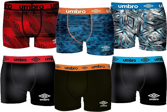 Umbro Pack 6 Calzoncillos Hombre: Amazon.es: Ropa y accesorios