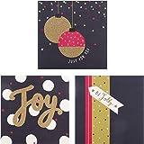 hallmark weihnachtskarten in glitzer box 10 st ck. Black Bedroom Furniture Sets. Home Design Ideas